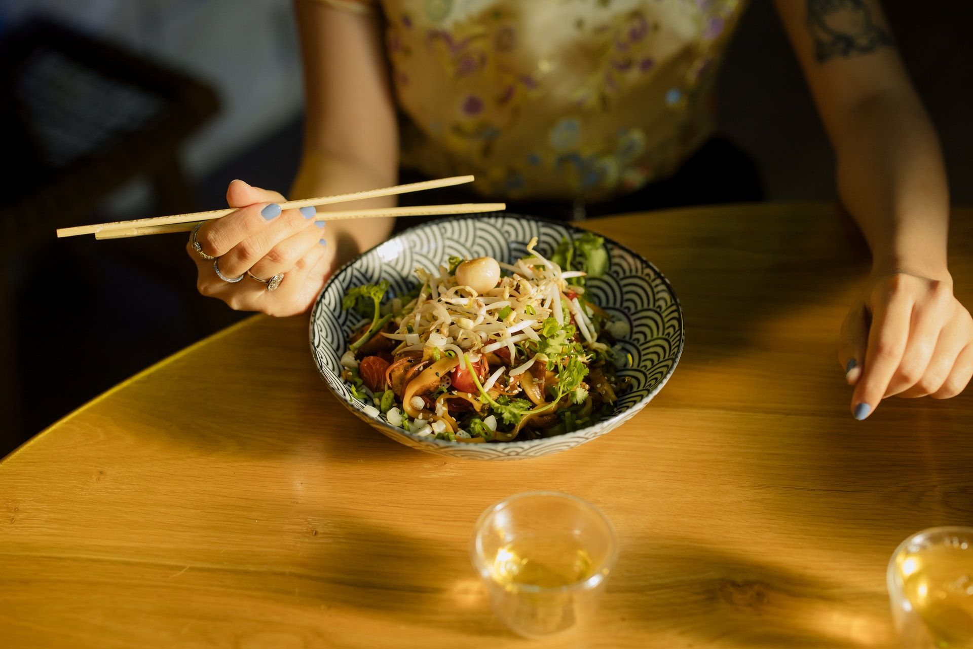 Traditional Chinese salad - one of the most popular salad in Asia